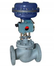 Vanne de régulation pneumatique, control valves